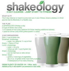 Best cleanse I have ever done! Not only did I feel amazing after the 3 days I even lost a few pounds!  #Shakeology #BeachBody #BeachBodyCoach  http://myshakeology.com/kmb311