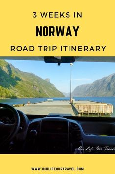 Norway road trip and best Norway travel tips including the best places to see in Norway and the best attractions. Cities, Norwegian fjords and more places to visit in Southern Norway. Plan your trip with the help of this Norway itinerary that covers the highlights of Norway. #norway #norwaytravel #ourlifeourtravel Norway Travel Guide, Iceland Travel, Sweeden Travel, Norway Fjords, Mountain City, Stavanger, Us Travel, Travel Tips, Lofoten