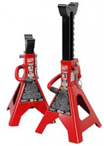 Torin Big Red Steel Jack Stands: Double Locking, 3 Ton Capacity, 1 Pair in Jack Stands. Best Toilet Bowl Cleaner, Miter Saw Reviews, Stair Climbing, Double Lock, Laptop Stand, Best Dj, Locks, Home And Garden, Steel