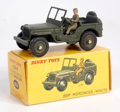Lot 2066 - French Dinky Toys, 816 Hotchkiss Willy