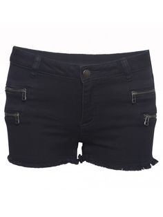 SPARKZ Marlin Zip Shorts  Denim shorts