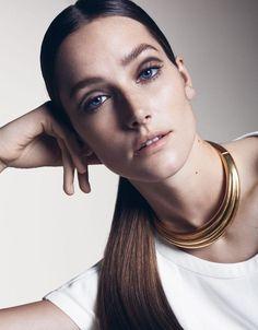 Josephine Le Tutour looks stunning in Sharif Hamza shoot for Vogue China May 2015