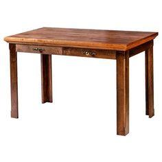 "Forest Designs 60"" W Writing Desk with Drawer Finish: Antique Alder"