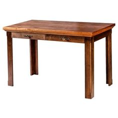"Forest Designs 48"" W Writing Desk with Drawer Finish: Coffee Alder"