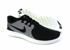 differently 03b1b 3723a Nike men s Free RN Commuter running shoes sneakers trainers Black White size  13  Nike  RunningShoes