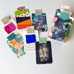 Learn how to create a deck of art cards that can serve as prompts for when you need creative inspiration; also learn how to make a box to hold them.