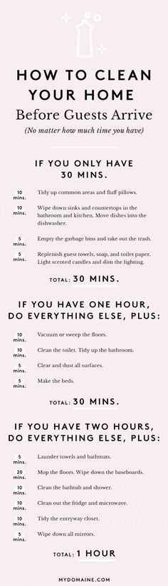 The Ultimate Guide to Cleaning Your Home in an Hour #cleaningtips