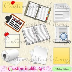Notebook Clipart Digital Spiral Note Book Card To Do List Document Blank Notebook Paper Roll Sheets of Paper Cute Printable Images Graphics Airplane Party Favors, Planes Party, Science Fair Display Board, Notebook Paper, Digi Stamps, Writing Paper, How To Make Paper, Digital Scrapbooking, Paper Crafts