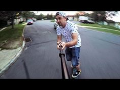 How to Use A GoPro Selfie Stick With The Perfect Framing. (Watch In 2.7K) - YouTube
