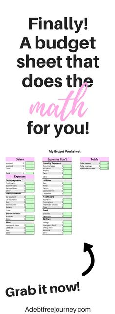 what is the best budget spreadsheet of 2018 - download it today and