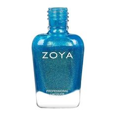 Zoya in Summer is from the Dreamin' collection and can best be described as a mermaid shimmer featuring flashes of green and gold with a blue base. Summer Nail Polish, Blue Nail Polish, Blue Nails, Summer Nails, Nail Treatment, Professional Nails, Natural Nails, Beauty Care, You Nailed It