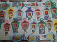 Νηπιαγωγείο, το πρώτο μου σχολείο: Ημερολόγιο φαναράκι Blog, Christmas, Painting, Art, Xmas, Art Background, Painting Art, Kunst, Blogging