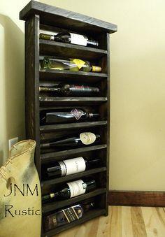 Father's Day, GiftFor Dad, Wine, Wine Tower, Rustic Wine Rack, Wine Cabinet, Unique Wine Racks, Wine Display, Wine Storage, Wine Shelving