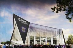 U.S. Bank Stadium, new home of the Minnesota Vikings
