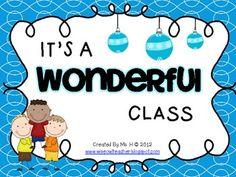 It's A Wonderful CLASS [Holiday Writing FREEBIE]