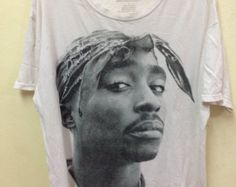 Tupac Shakur Copyright 2014 Size L Made In Mexico