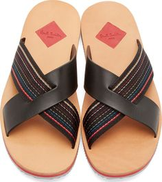 Paul Smith Jeans for Men Collection Leather Slippers For Men, Mens Slippers, Cowboy Boots Women, Cowgirl Boots, Western Boots, Men Sandals, Leather Sandals, Nautical Shoes, Huarache