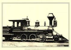 Unknown - Locomotive VI - Fine Art Print