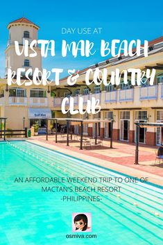 Day Use at Vista Mar Beach Resort and Country Club: An Affordable Weekend Trip to One of Mactan's Beach Resort