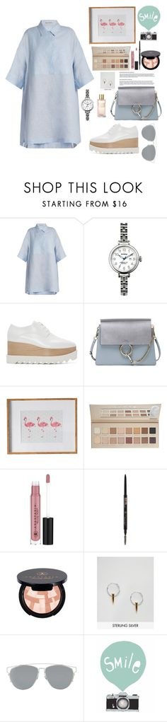 """""""🕊."""" by nour20-17 ❤ liked on Polyvore featuring Acne Studios, Shinola, STELLA McCARTNEY, Chloé, Gallery, LORAC, Anastasia Beverly Hills, ASOS, Christian Dior and Estée Lauder"""