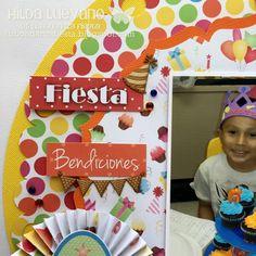 Hilda Designs: Blog Hop: Scrapbook Day en Abbondanza Fiesta
