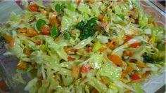 Zeleninový šalát s vynikajúcou chuťou, ktorý je plný vitamínov! Prospieva Vášmu zdraviu!