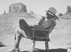 John Ford nella Monument Valley