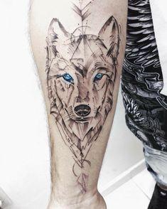 Wolf Tattoo Forearm, Wolf Tattoo Sleeve, Tribal Sleeve Tattoos, Feather Tattoos, Arm Band Tattoo, Wolf Girl Tattoos, Eagle Tattoos, Arm Tattoos For Guys, Leg Tattoos