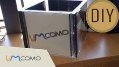Cubo de fotos | Reciclando capa de CD