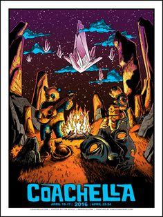 Tim Doyle Coachella Poster Release