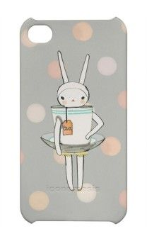 Every thirty year old woman should have a Fifi Lapin as a tea cup iPhone cover. Duh!