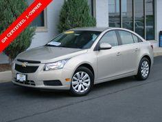 2011 Chevrolet Cruze LT - GM Certified - SOLD - http://www.applechevy.com/VehicleDetails/certified-2011-Chevrolet-Cruze-LT_w%2F1LT-Tinley_Park-IL/2080609713