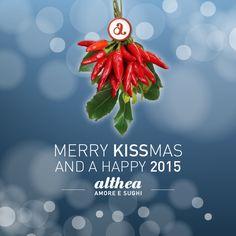 Vi auguriamo #feste piene di #sorprese, #amore e #baci. #Natale #Christmas #christmastime #kiss #love #Althea #sughi #food #foodie #foodlover