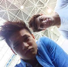 Malec selfie || Alec Lightwood and Magnus Bane || Matthew Daddario and Harry Shum Jr. || Shadowhunters: