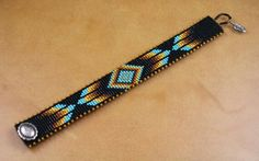 Native American Inspired by CabinFeverBracelets Loom Bracelet Patterns, Bead Loom Bracelets, Bead Loom Patterns, Beading Patterns, Native American Patterns, Native American Beadwork, Indian Beadwork, Loom Beading, Bead Weaving