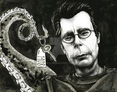 Stephen King by Janine [©2014]