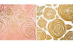 Margaret Berg : florals / spring -- ornament roses II