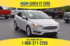 Used 2018 Ford Focus Titanium FWD Sedan For Sale Gainesville FL - 40621P Used Ford Focus, Ford Focus Sedan