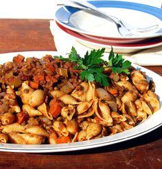 Slow Cooker Lentil Bolognese - Holy Cow! Vegan Recipes