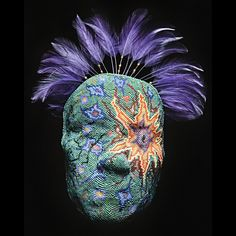 Wendy Seaward Intuitive Beadweaving - Masks