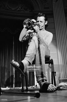 Chet Baker performs live on stage at Concertgebouw in Amsterdam, Netherlands on July 19 1983