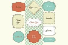 Vintage Frames by Things for designers on @creativemarket