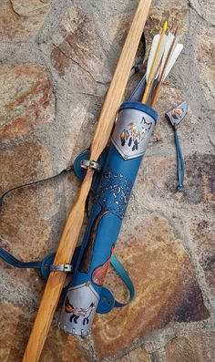 Leather Back Quiver With Adjustable Three Straps Harness And A Archery Quiver, Archery Set, Archery Targets, Archery Hunting, Deer Hunting, Archery Aesthetic, Leather Quiver, Arm Guard, Longbow