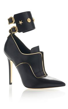 Studded Stiletto Shoe - Versace PreFall 2013... Amazing!