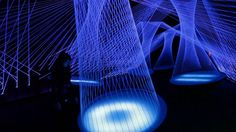 Resonate - interactive light & sound installation