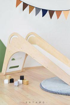 Kinder Rutsche FICHEE für Indoor ist das Must-Have in jedem Kinderzimmer. Denn es bedeutet jede Menge Spiel und Spaß! Rutsche im Kinderzimmer - Holzrutsche Kinderzimmer - Kinderrutsche - Rutsche Indoor - Rutsche Kinderzimmer #kinderzimmer #montessori #kinder #spielzeug Montessori, Inspiration, Kid Furniture, Nature Decor, Toys For Toddlers, Biblical Inspiration, Inspirational, Inhalation