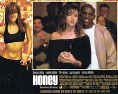"""""""HONEY"""" - 2003 - Original Lobby Card It is in near mint to mint condition and has never been used. Mekhi Phifer, Joy Bryant, Jessica Alba, 2000s, New Music, Honey, Mint, The Originals, Cards"""