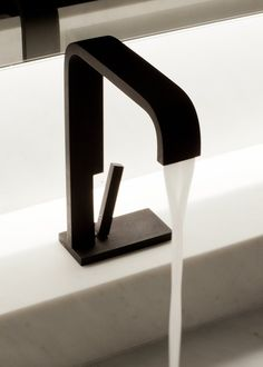 """Andrew"" single lever washbasin mixer by Co Studio for RVB"