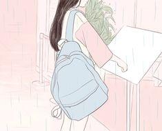 Imagen de aesthetic, art, and bambi Imagen de aesthetic, art, and bambi Aesthetic Gif, Pink Aesthetic, Anime Gifs, Anime Art, Lila Baby, Kawaii Anime, Cute Art, Art Inspo, Art Girl