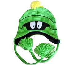 Looney Tunes Martian Head Fleece Lined Green Knitted Hat with Tassels Looney Tunes http://www.amazon.com/dp/B00QIO9ADK/ref=cm_sw_r_pi_dp_v-p3ub1EQP4TF